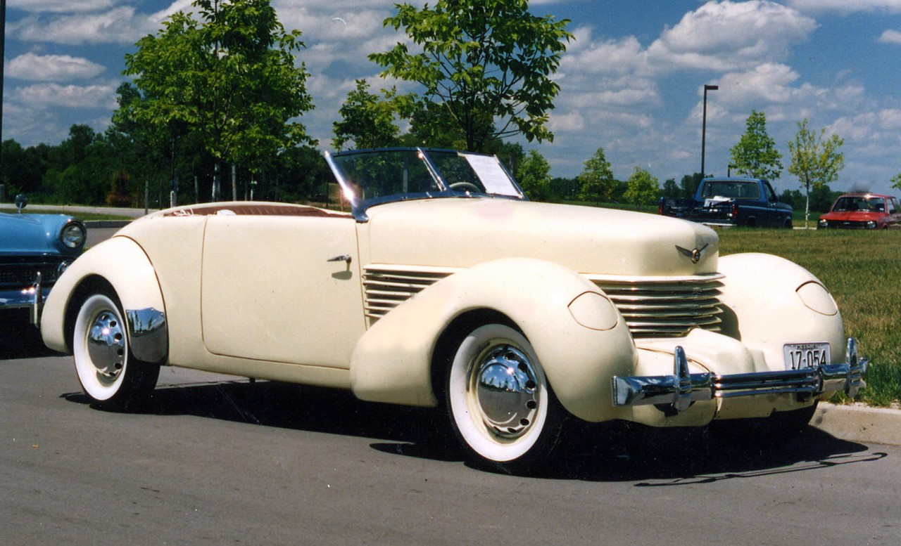 Buehrig designed Classic……..1936 Cord 810 Phaeton