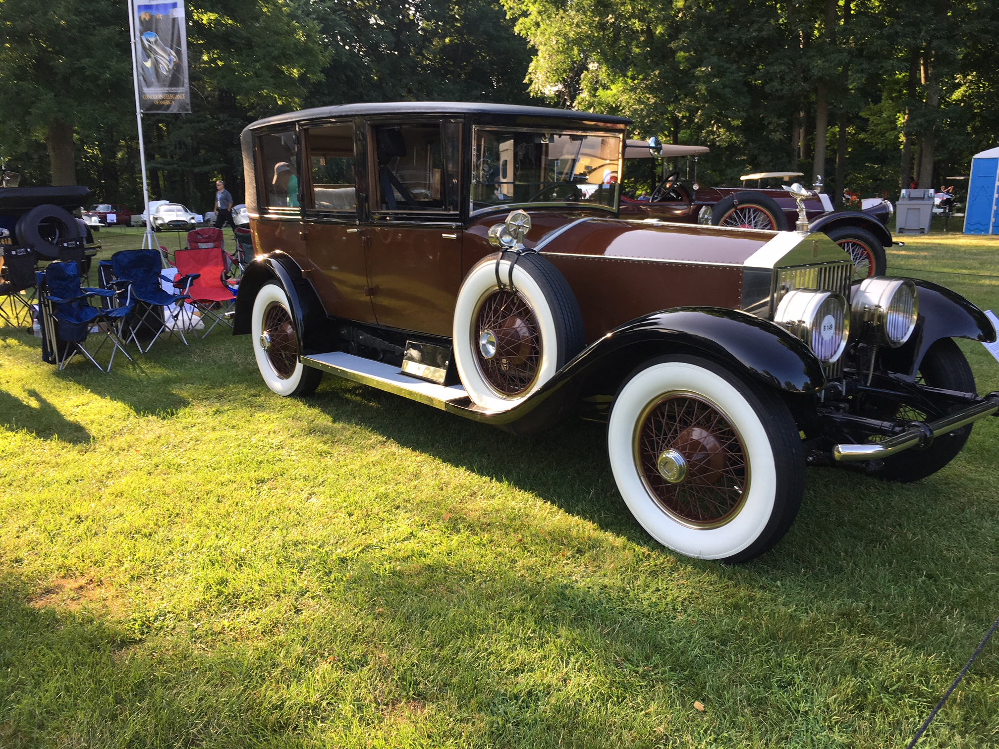 1925 Rolls-Royce Silver Ghost Buckingham Limousine, owned by SSR member Wendell Smith