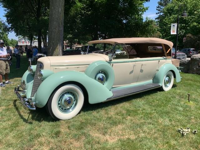 Award winning 1936 Lincoln K, V-12, Touring