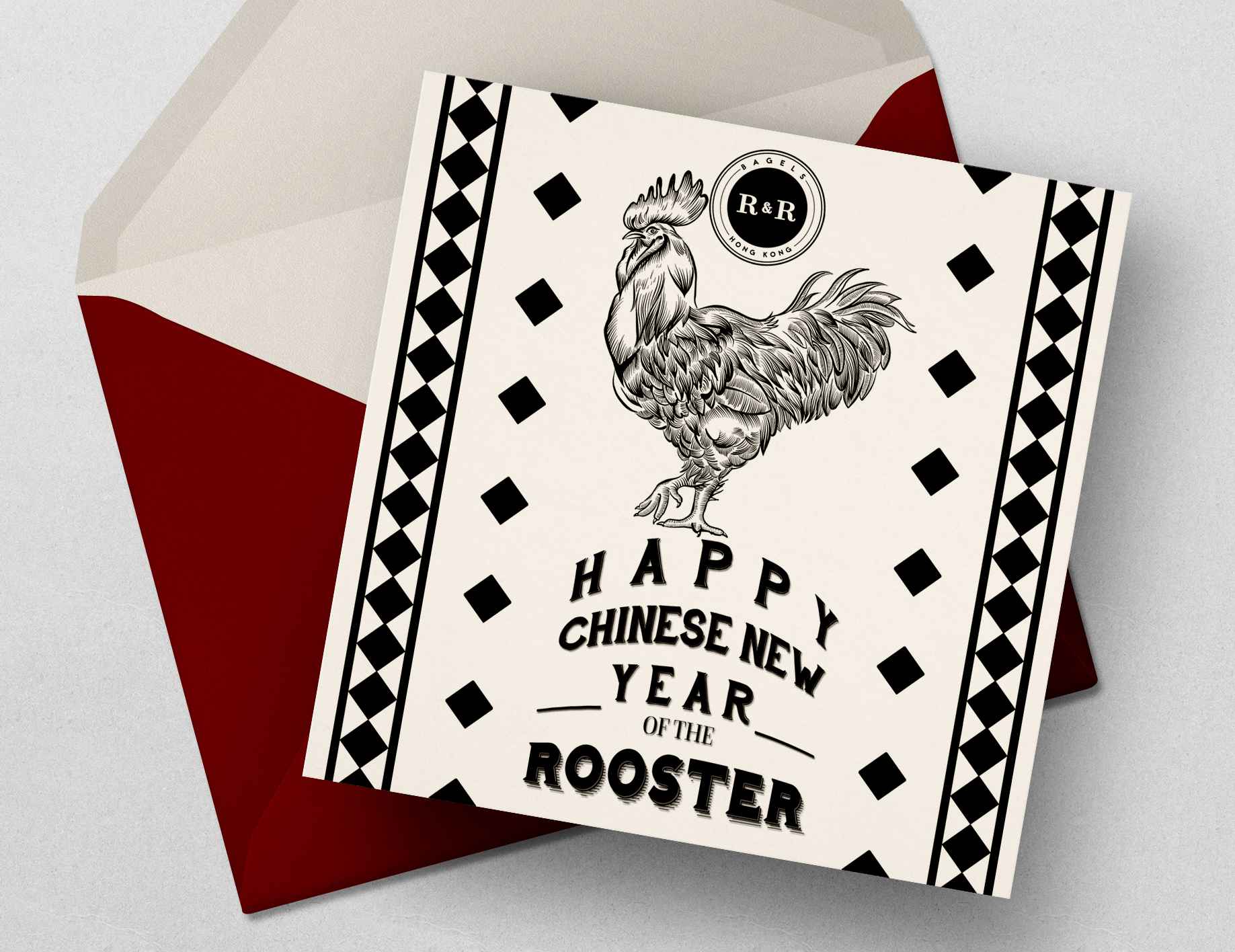 EDM and Social Media Content created for R&R Bagels HK for Chinese New Year.