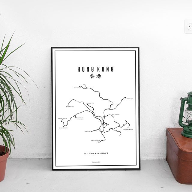 The Hong Kong Labyrinth Art print is now available in A3 size! Contact us to customised this Art print with your own gps coordinates. It makes for a perfect gift or a souvenir of this urban jungle we call home 🇭🇰 link in bio 😉