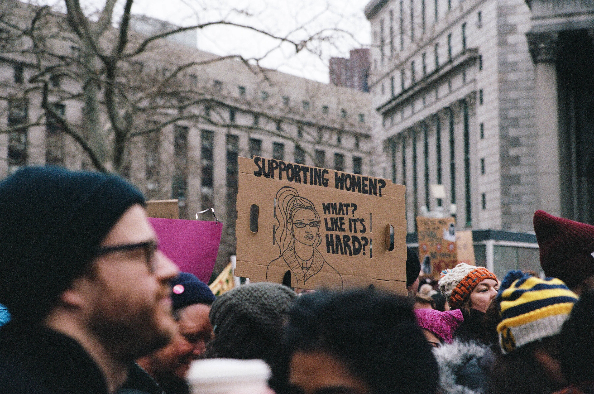 2019 NYC Women's March - For Pure Nowhere