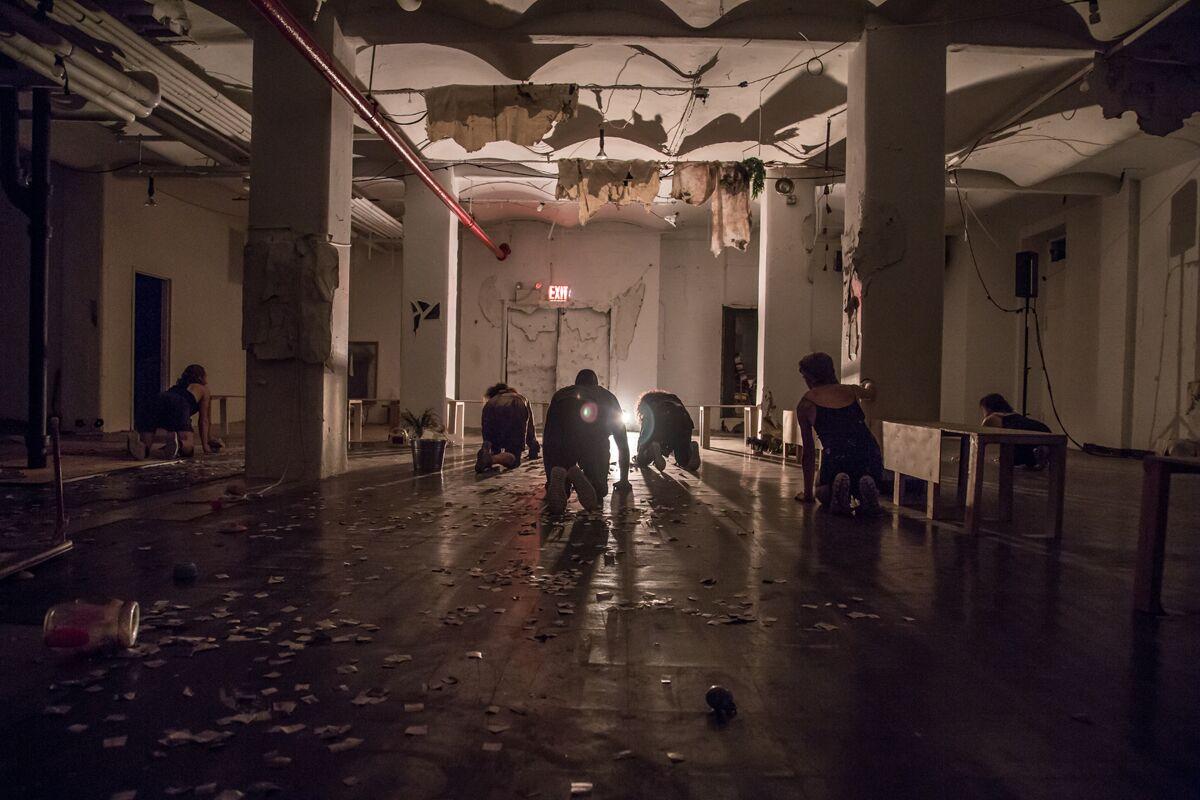 THE BLAST  / WESTBETH ARTIST BUILDING OLD SYNOGOGUE / 2017