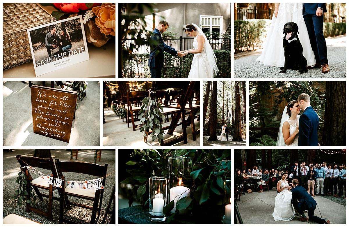 San Francisco Wedding bride and groom