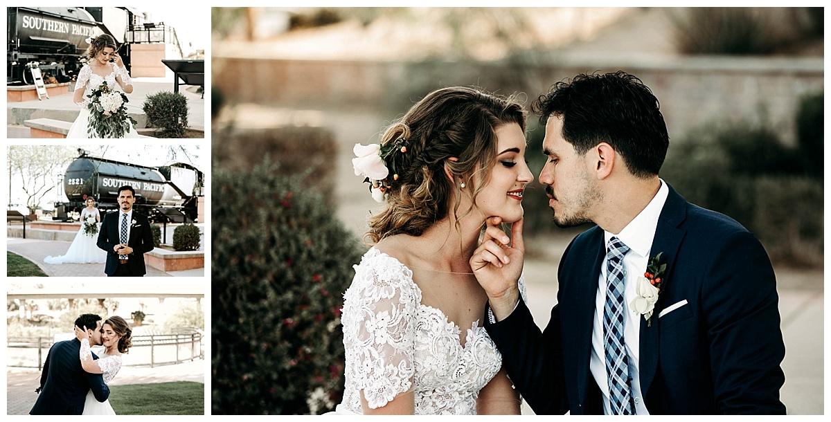 first look wedding yuma