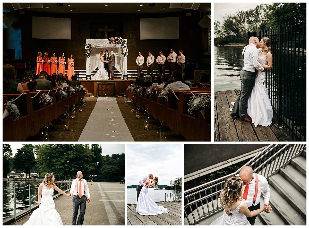 Wedding day in Washington
