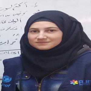 Rahaf Ahmad Al-Aid,   Product Tester,  Zaatari-Jeeltek