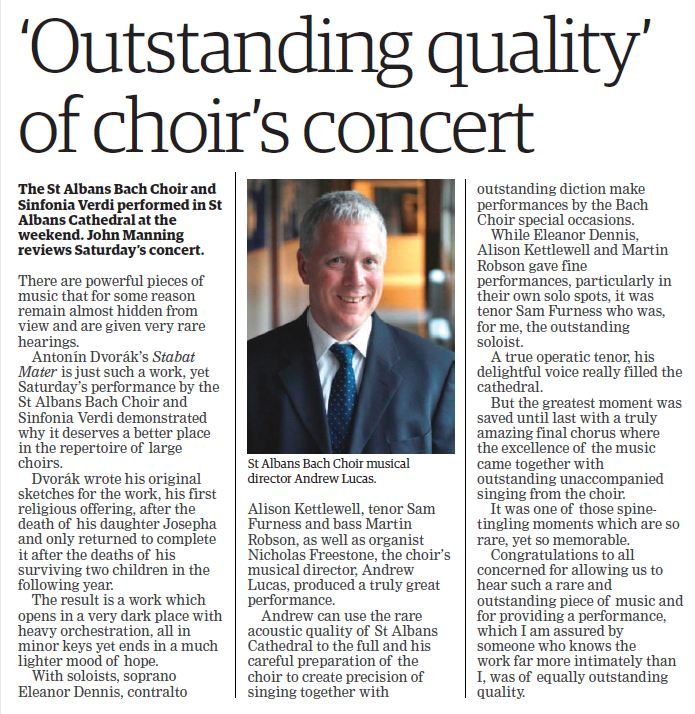 From the Herts Advertiser 6thApril 2017