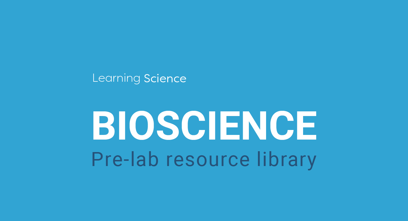 Learning Science pre-lab resource library
