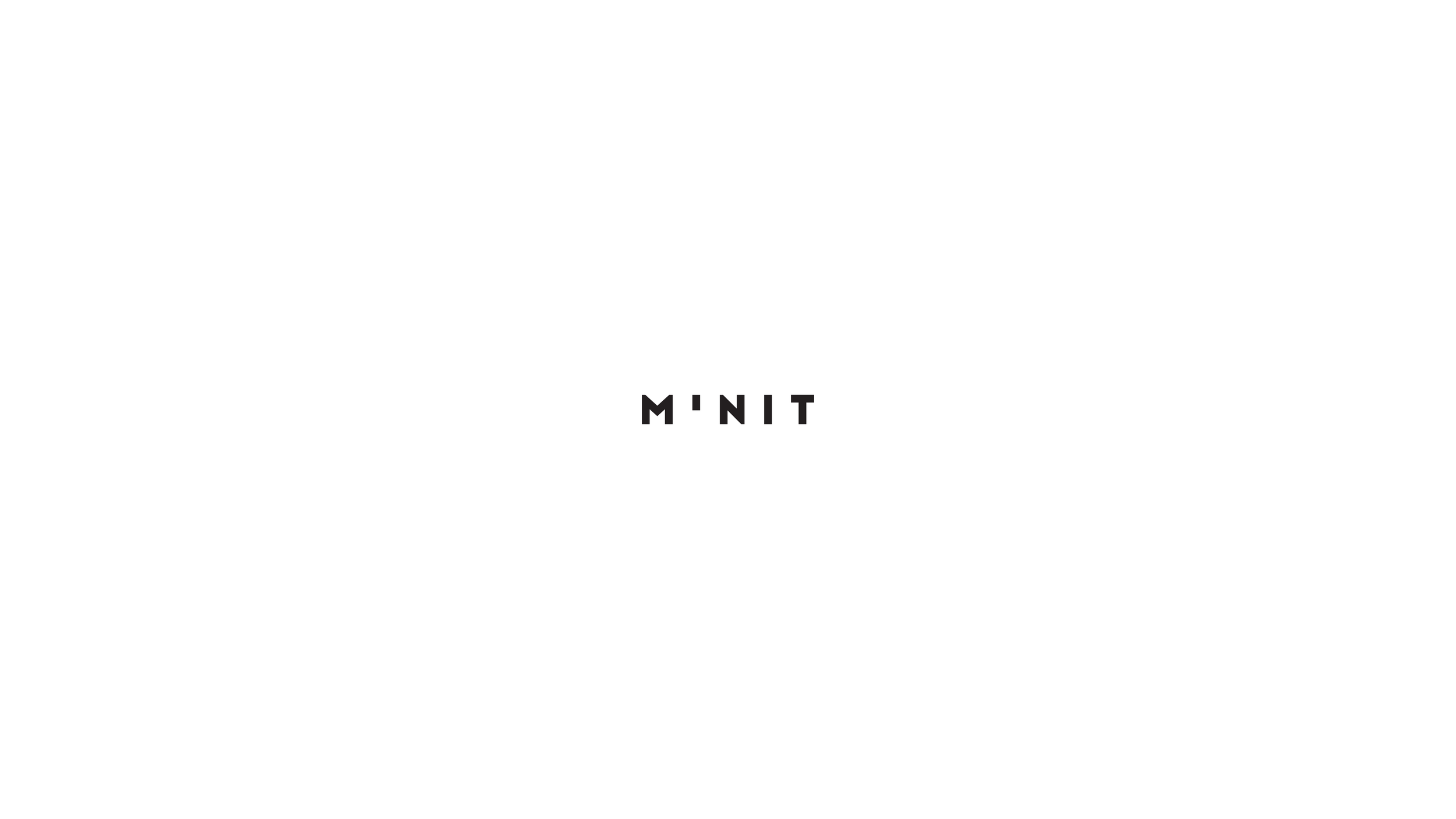 M'NIT  Minimalist connected watch's logo