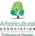 Arboricultural Association Professional Member logo