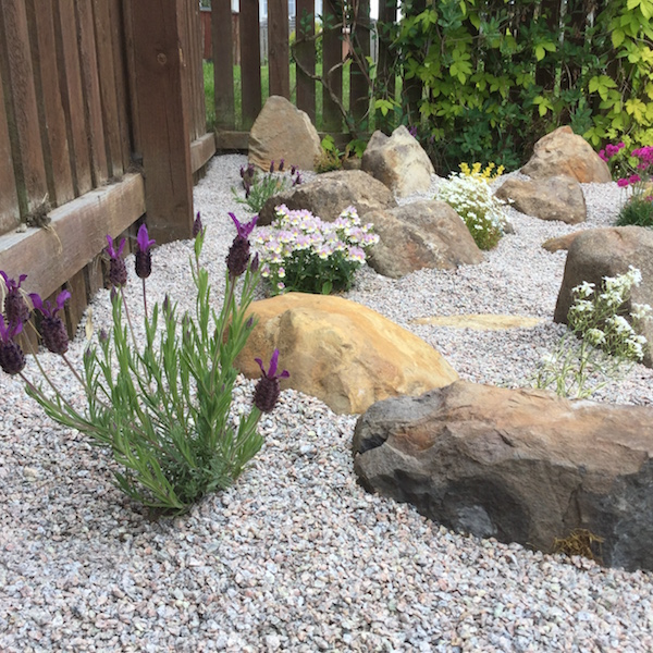 rockery landscaping fife