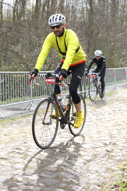 Paris-Roubaix Sportive 2015 - Wald von Arenberg - die GoPro hält!