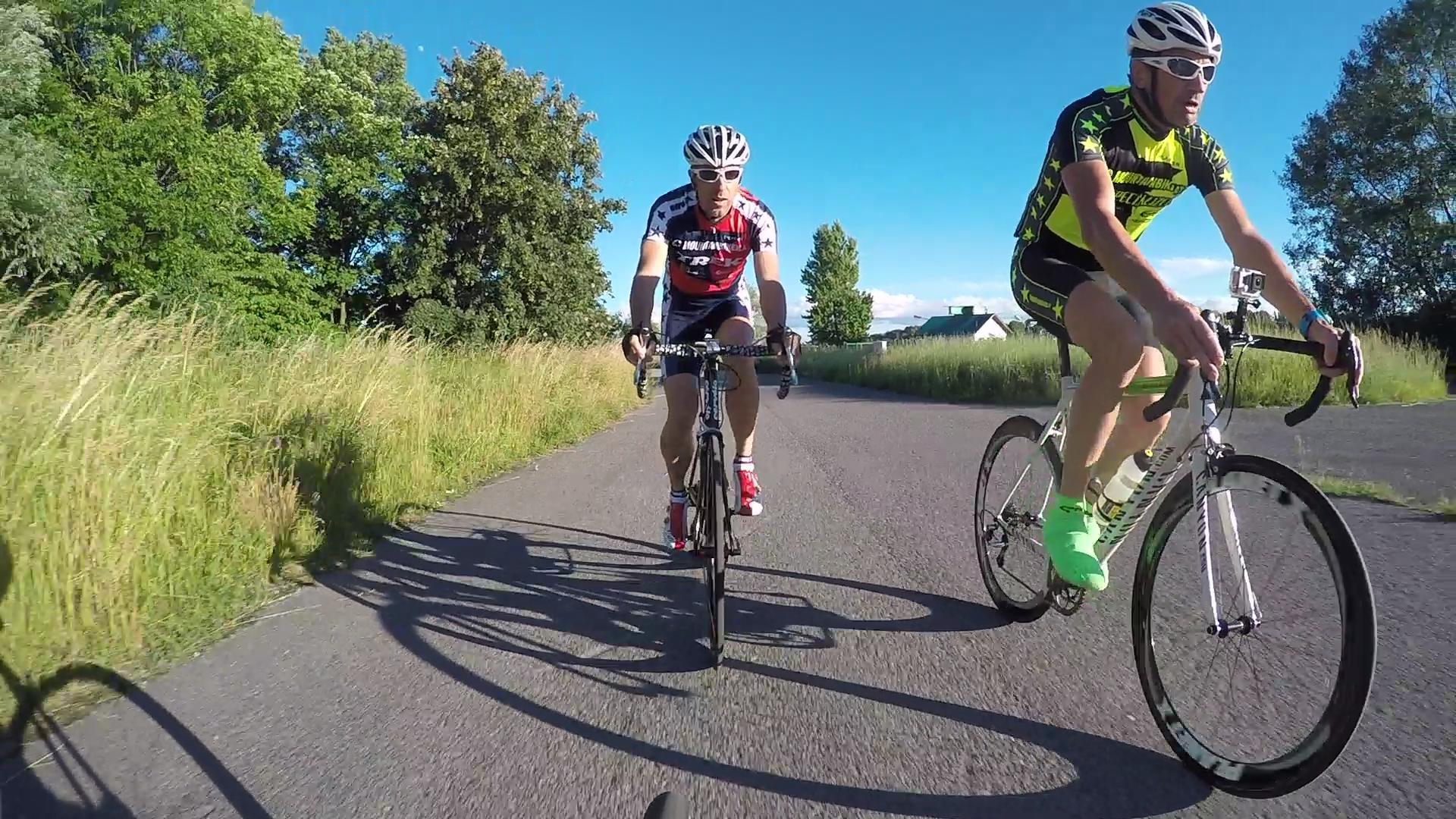 """Mitten im Geschehen beim Radsporfttreff """"Sprint & Shoot"""" beim Cyclodrom - GoPro Hero4"""