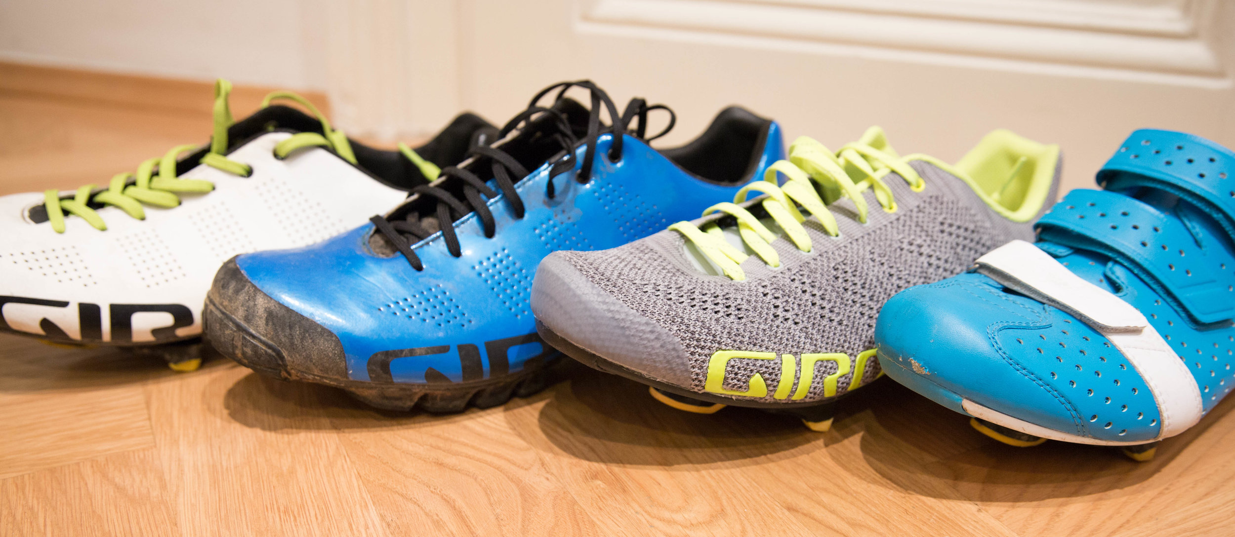 Im 169k-Einsatz: Empire ACC, Empire V90 (MTB), Empire E70 Knit, Rapha Climbers Shoes (mit Easton-E90-Sohle)