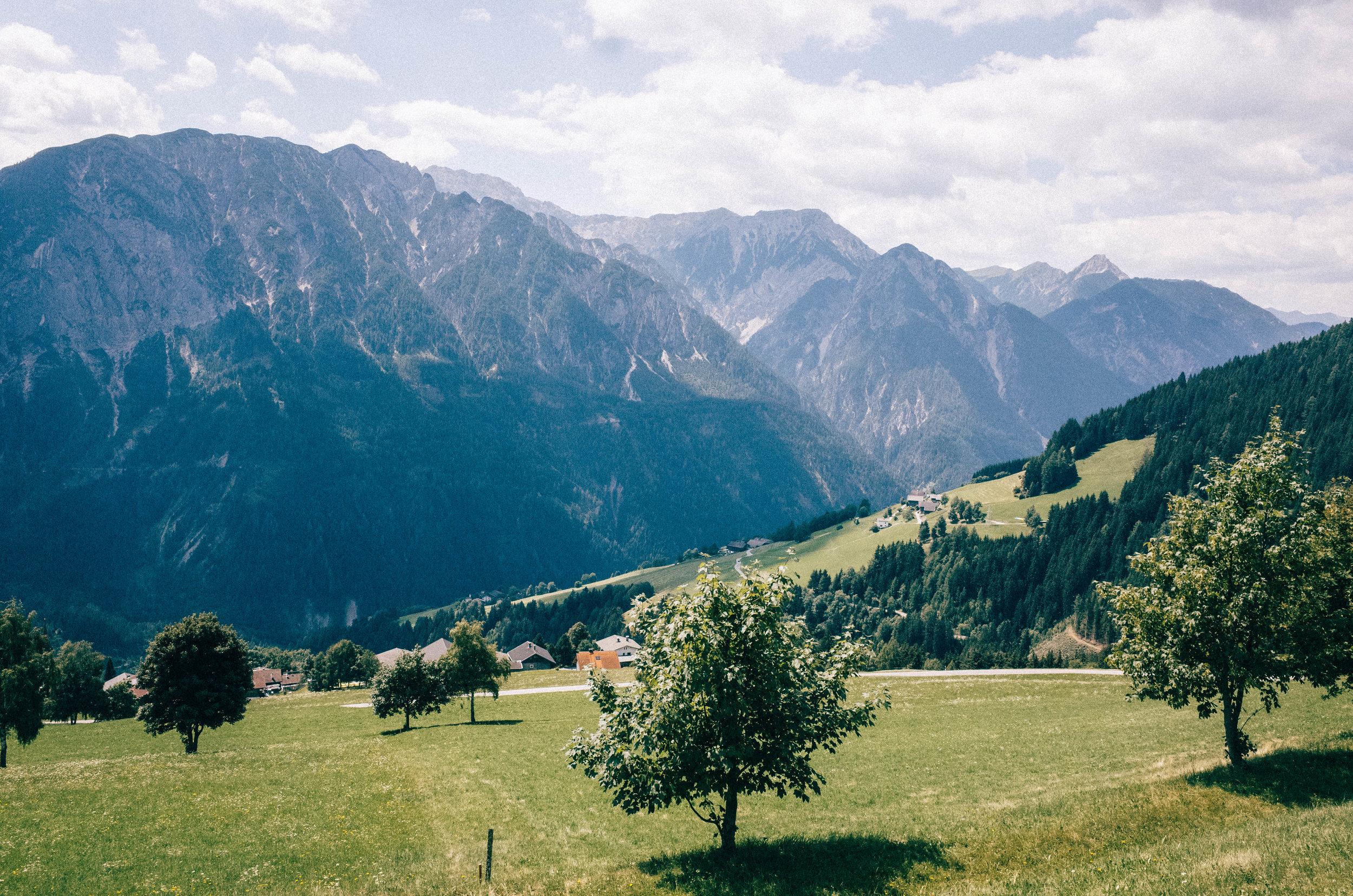 Der Hochstein in Lienz über Bannberg - 1400 Höhenmetern auf 11 Kilometern