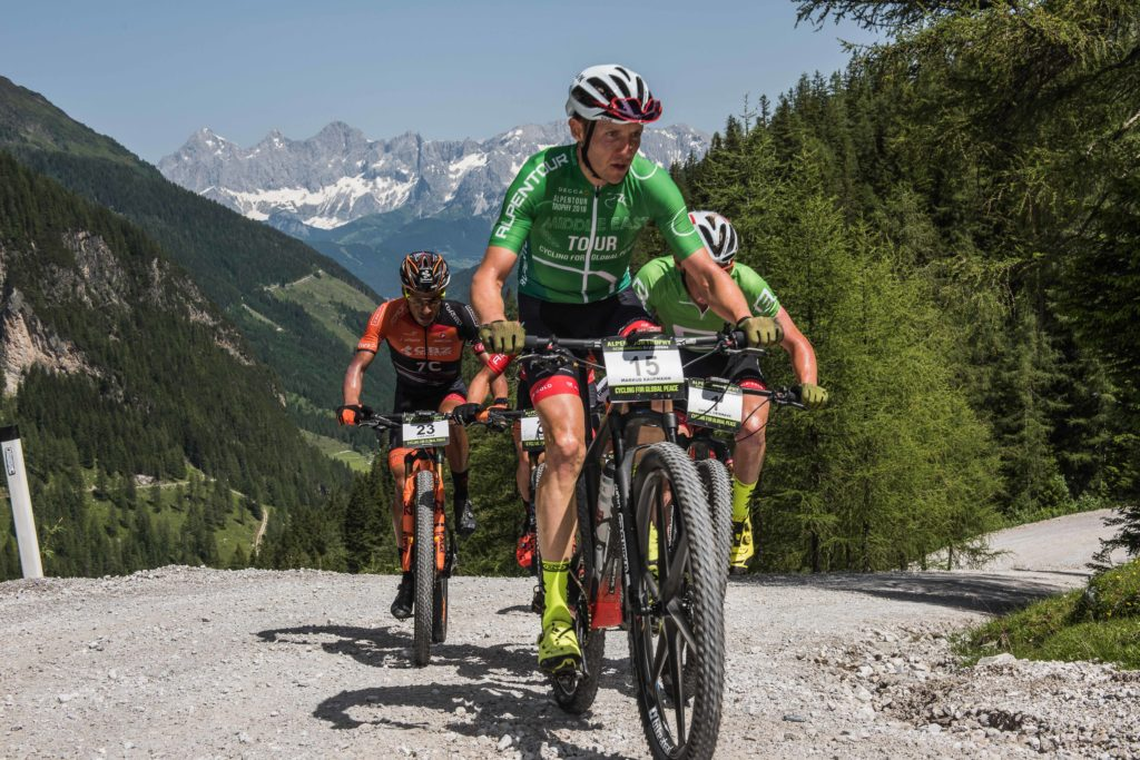 Sieger 2018 Markus Kaufmann (Foto: Alpen Tour)
