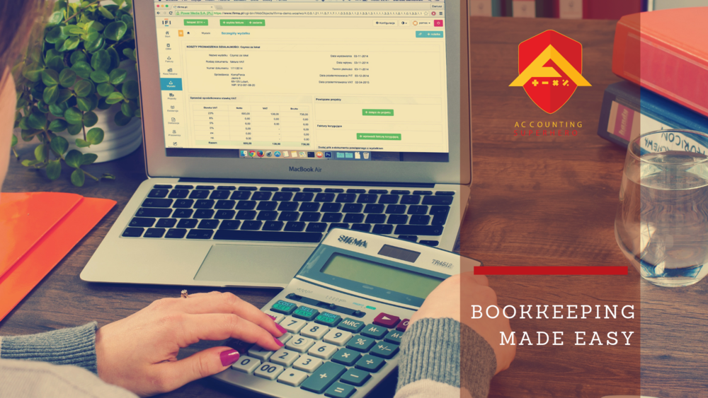 Accounting Superhero Bookkeeping Made Easy