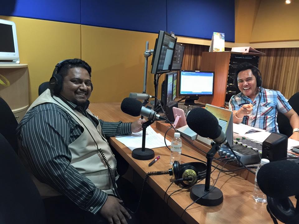 Menjadi tetamu di Radio Warna 94.2FM dalam segmen mingguan Kesihatan Kewangan