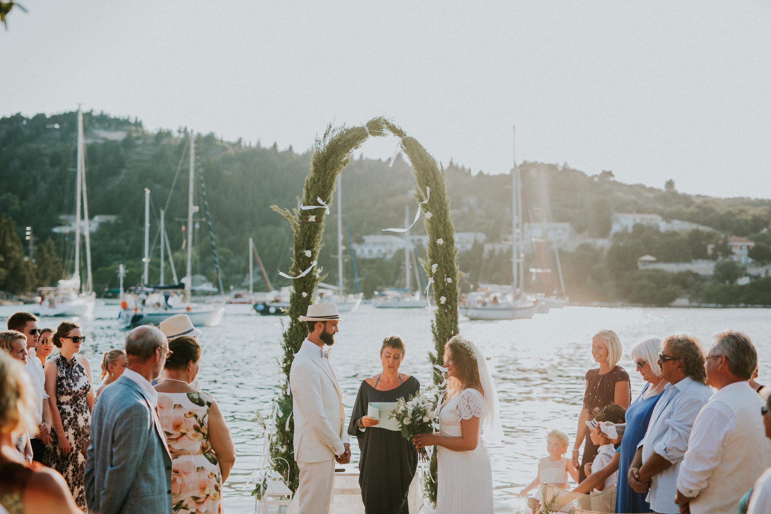 Foto: Michaela Klouda Photography - Bryllup i Hellas
