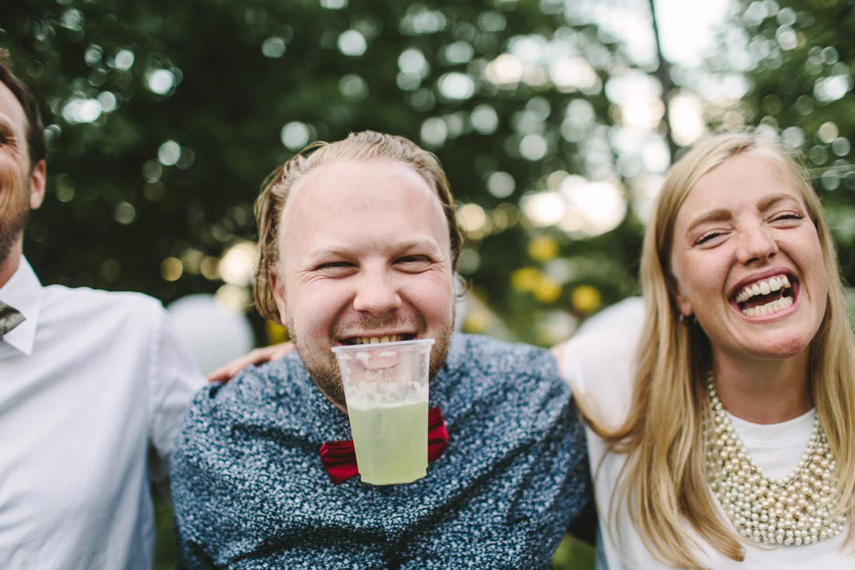 utendørs bryllupsfest