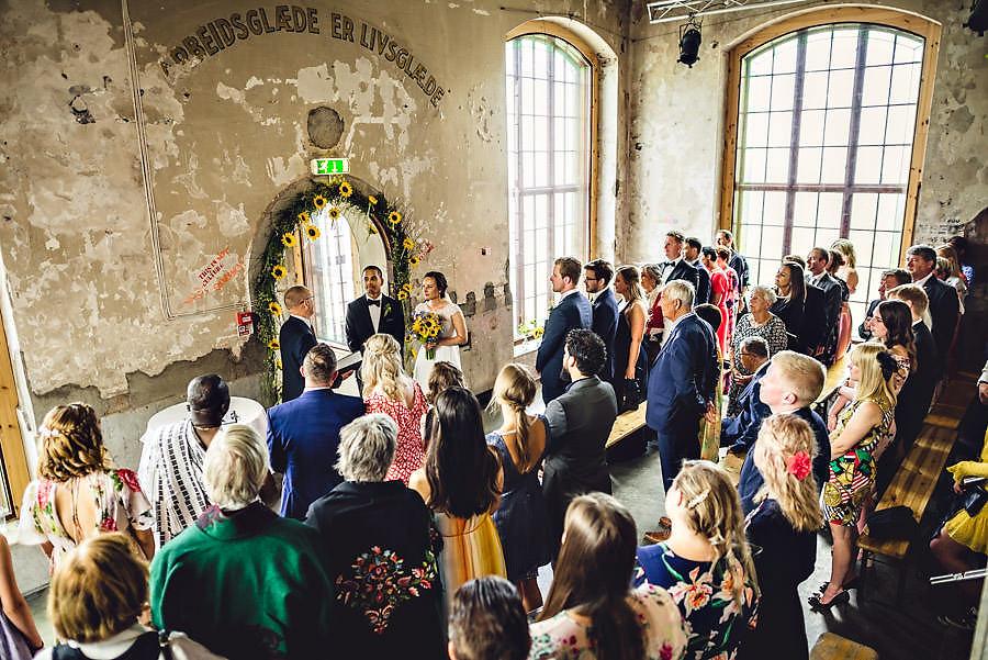 vielse på tou scene bryllup i stavanger