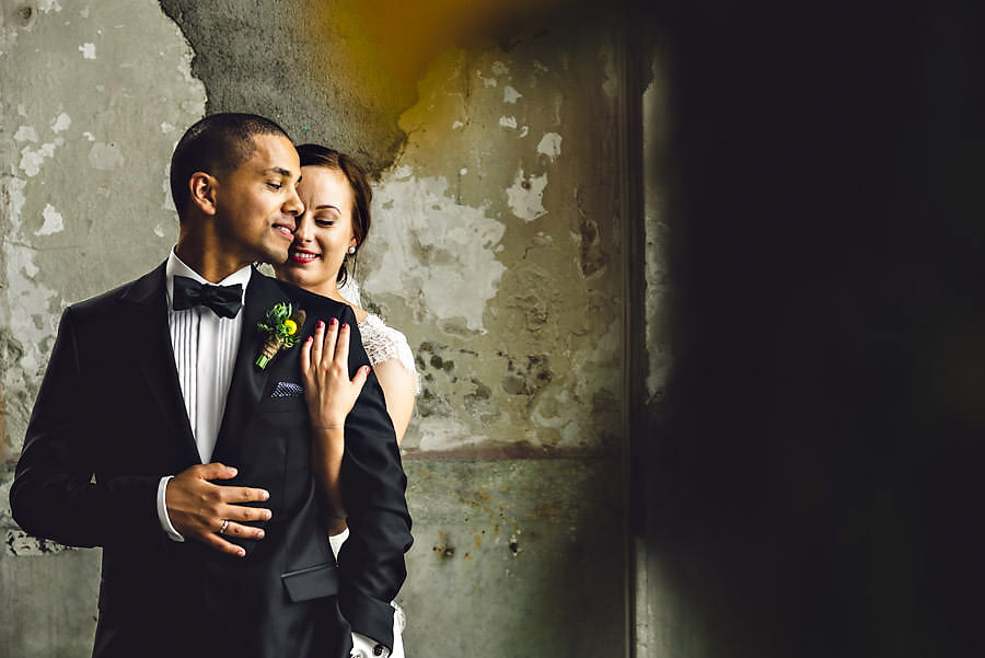 bryllupsbilde på tou scene