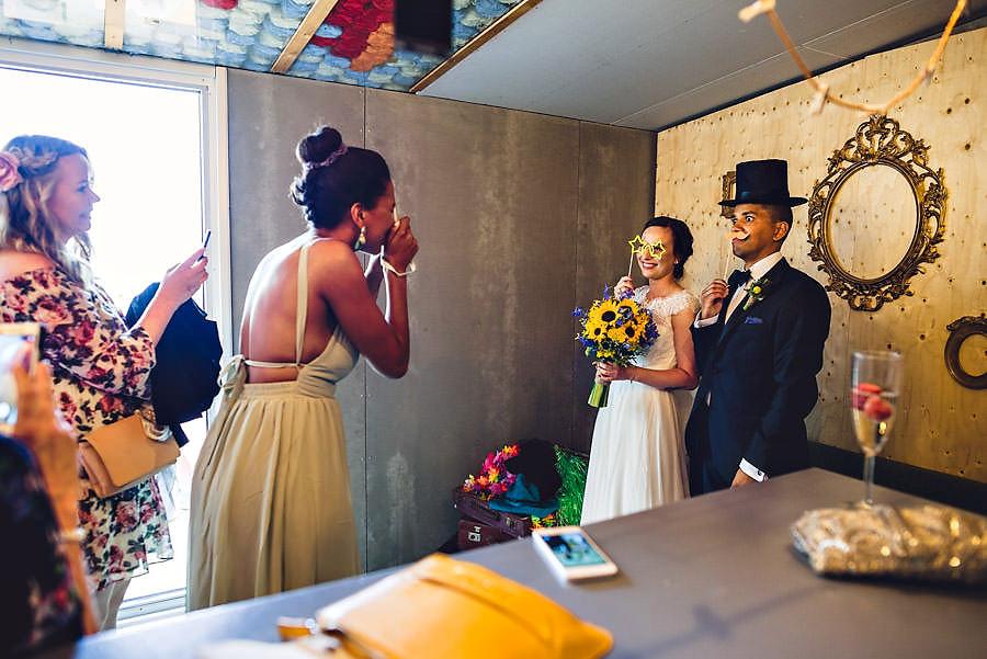 photobooth i bryllup på tou scene i stavanger