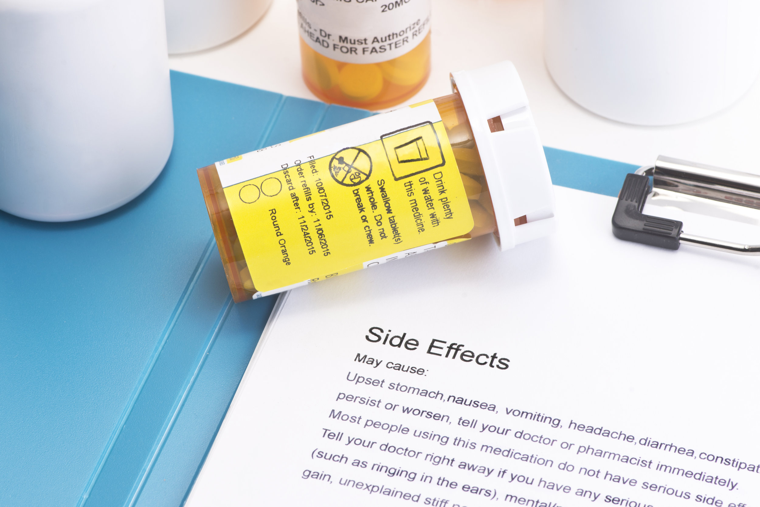 Side effects and harmful effects