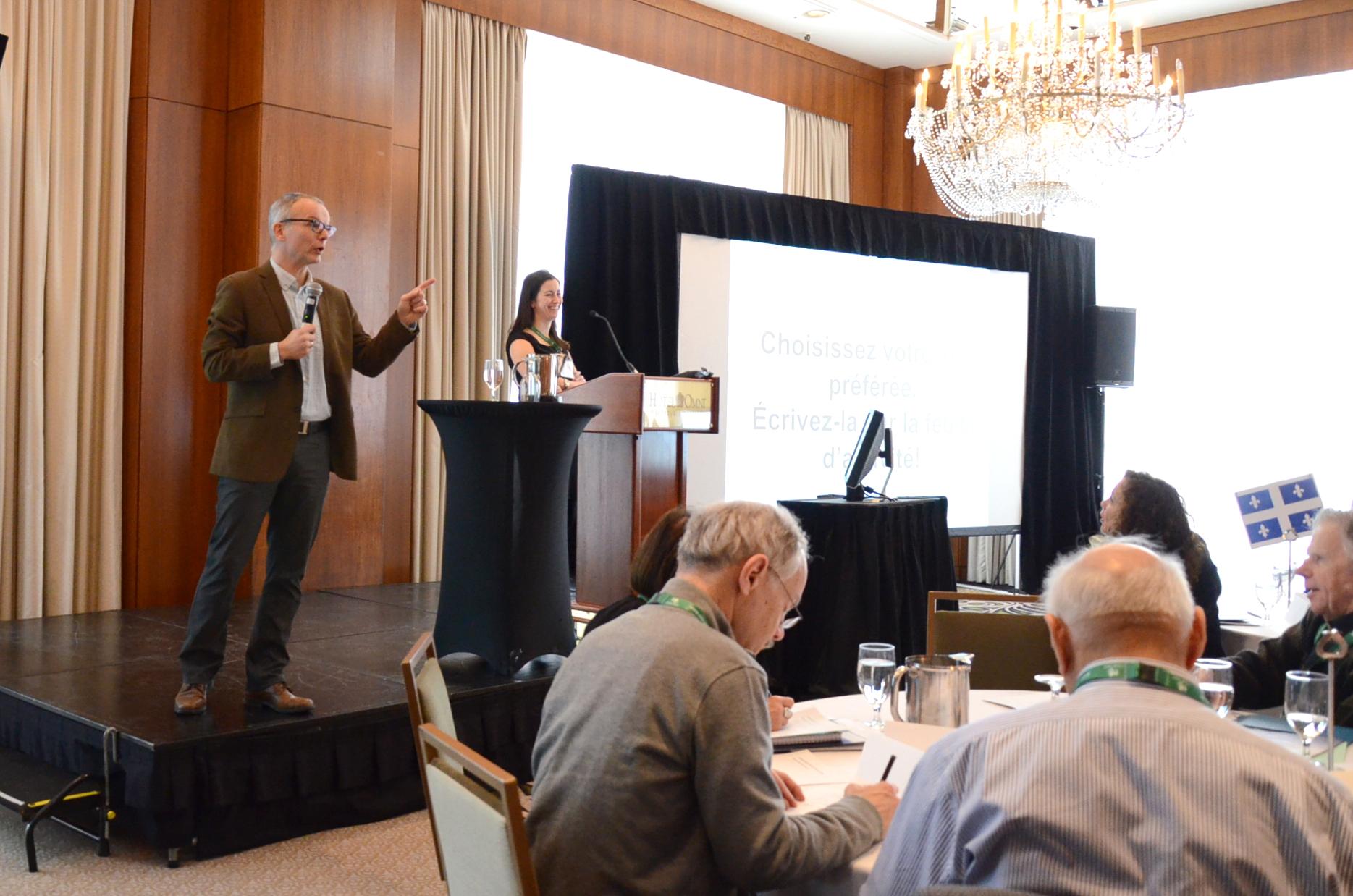Crowdsourcing Bold Ideas for Maximum Impact  by Dr. Andrea Murphy & Dr. David Gardner, Executive Members, CaDeN, Nova Scotia