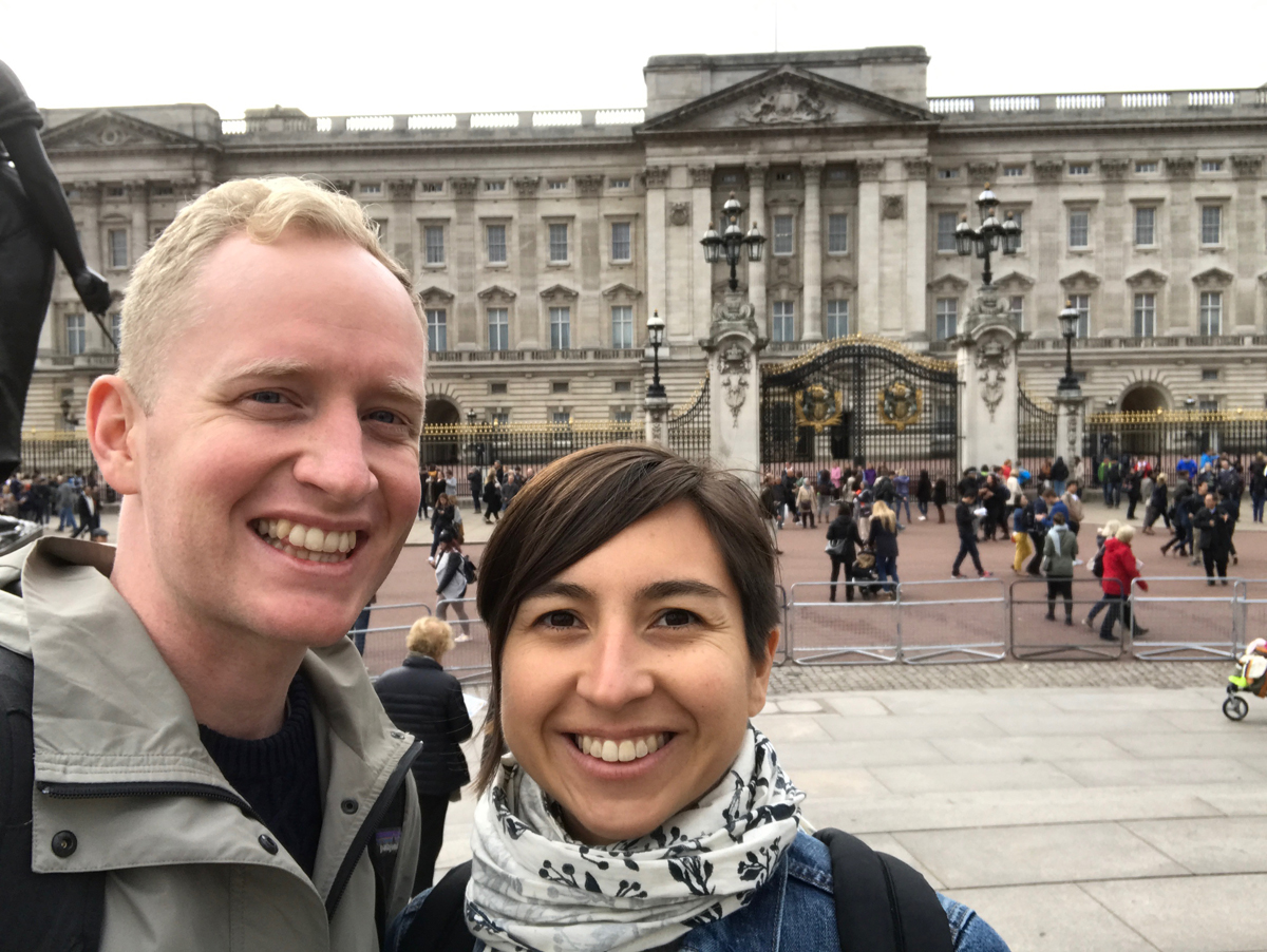 Buckingham Palace, minus the Beefeaters.
