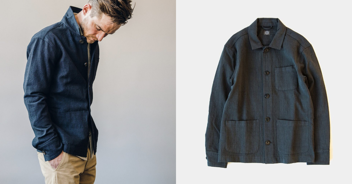 The Washed Canvas Chore Coat - available in three colorways