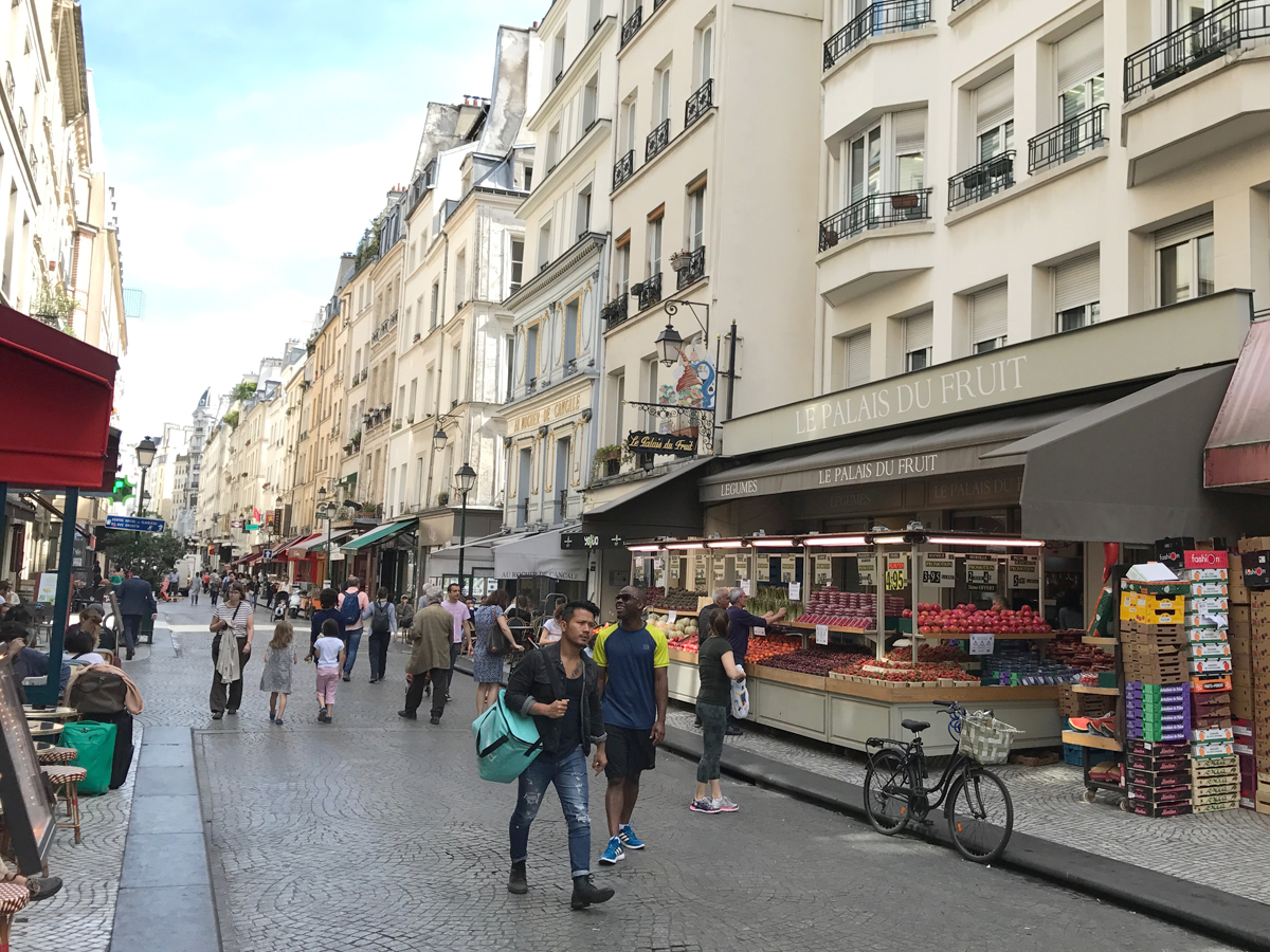 Montorgueil has everything you need for a proper Parisian experience