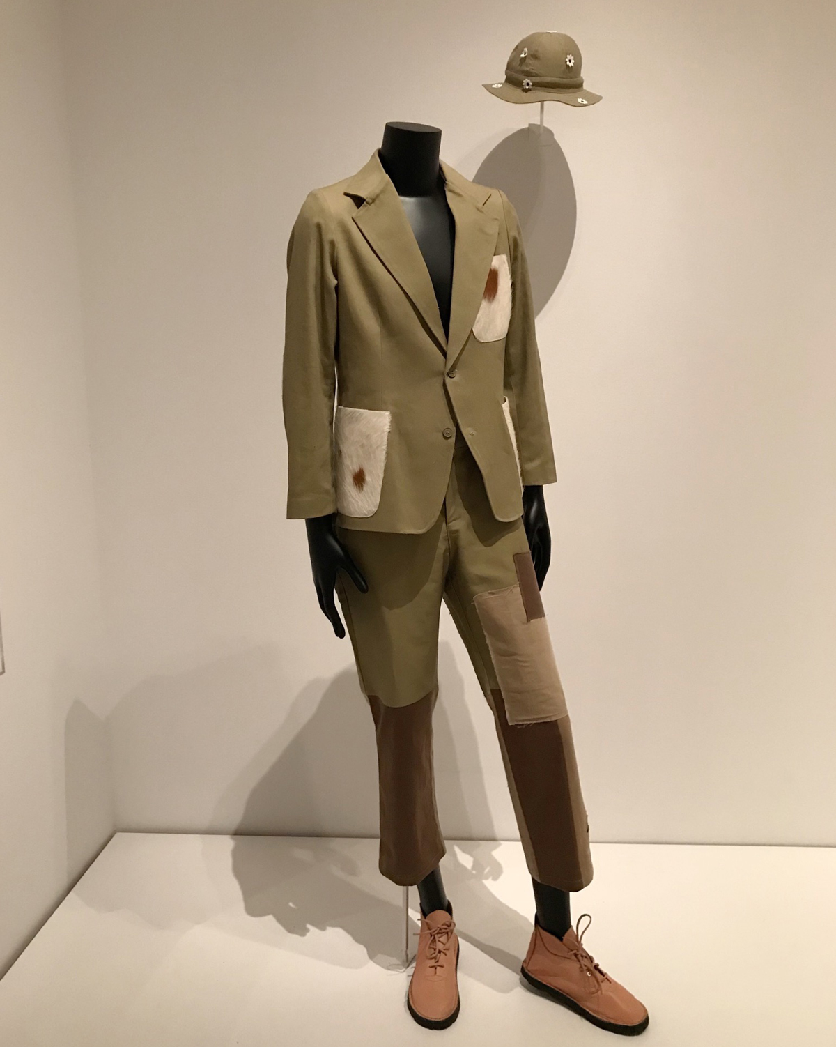 "A particularly striking ensemble commissioned specifically for this exhibit. Created by the South African design collective,  The Sartists  - this suit reflects the ""range of ever-changing and emerging transnational, transhistorical, and transcultural identities within South Africa."""