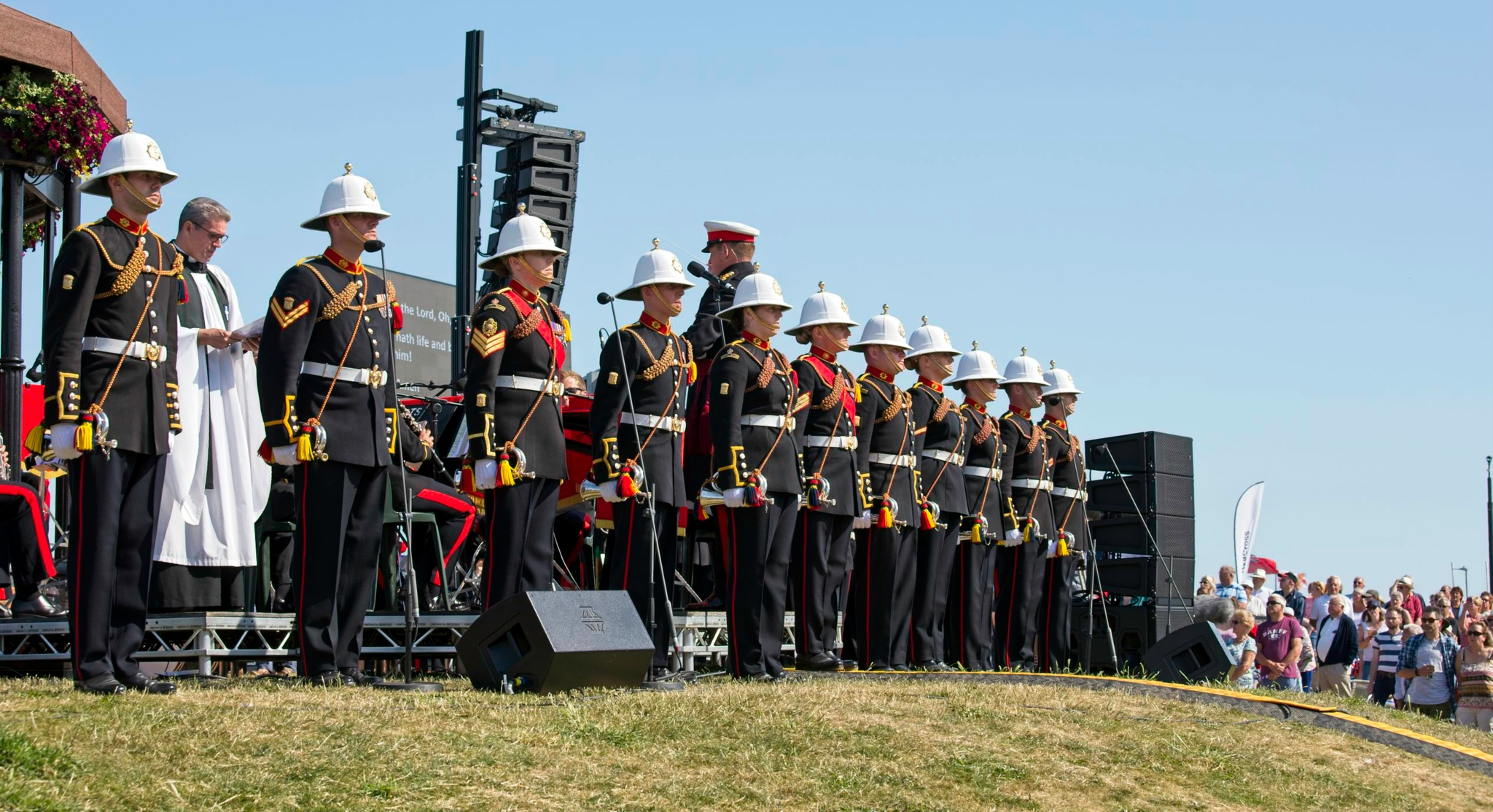 """Royal Marines commemorate fallen comrades with EM Acoustics"""