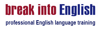 Break Into English Logo