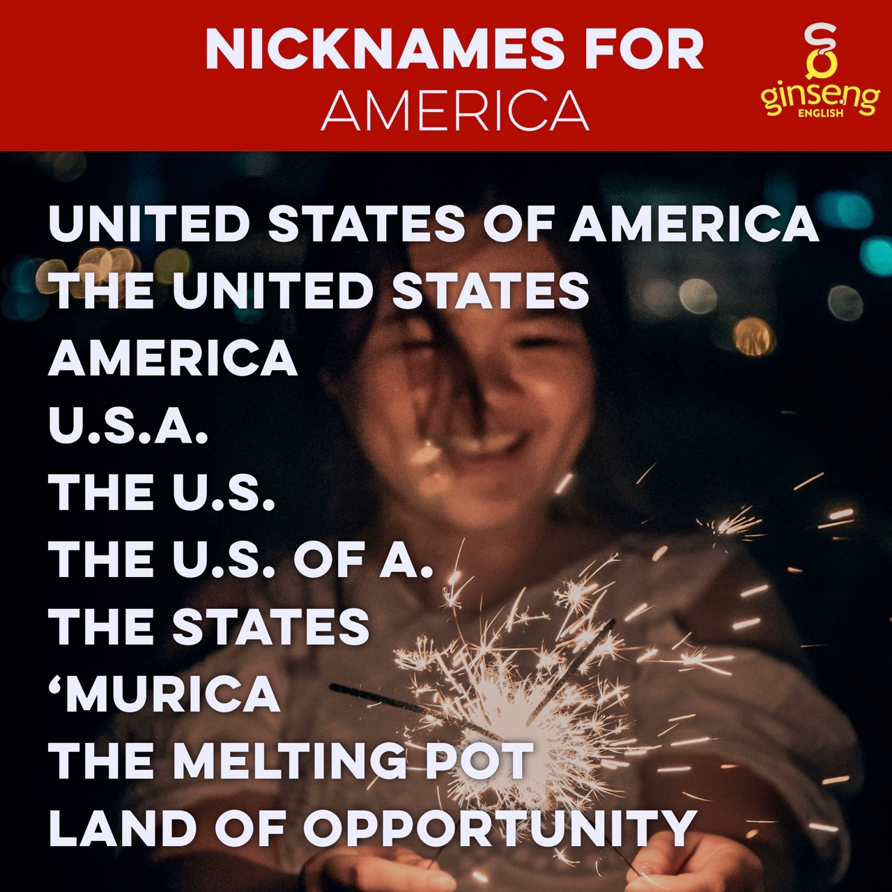 Nicknames for America