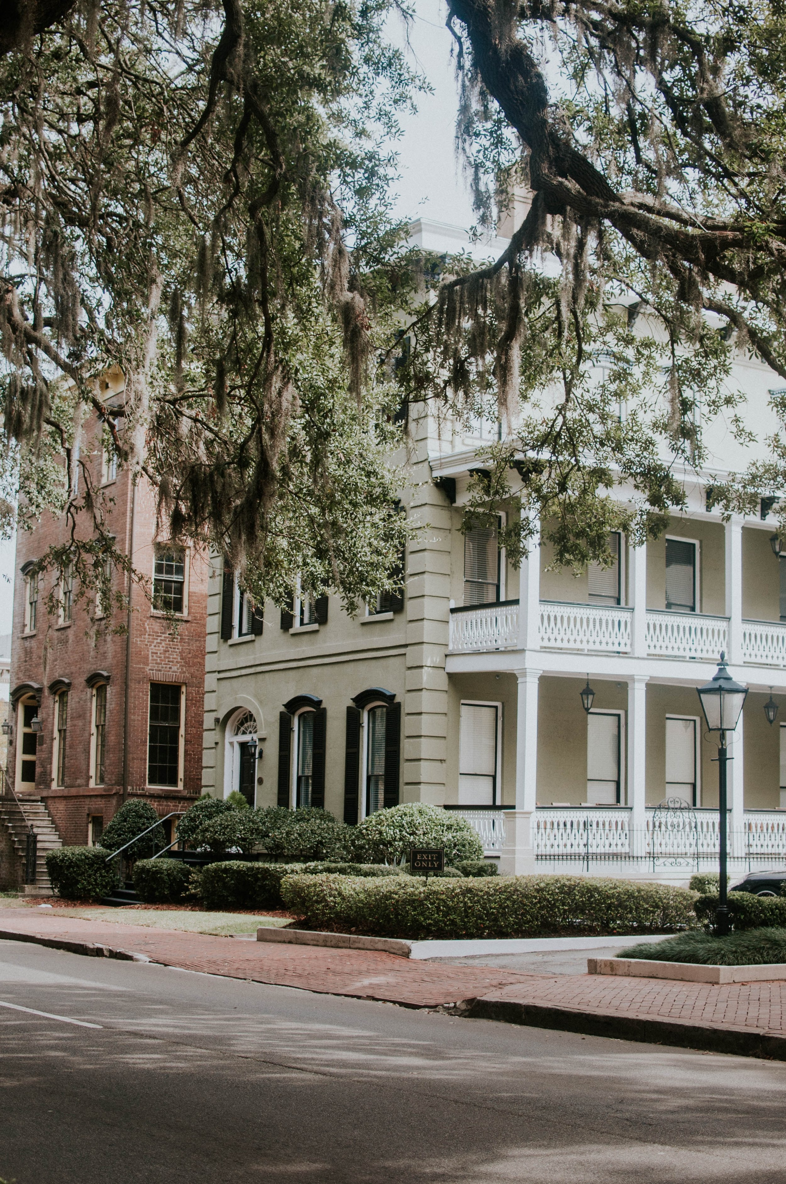 The trees and architecture of Savannah will blow your mind.