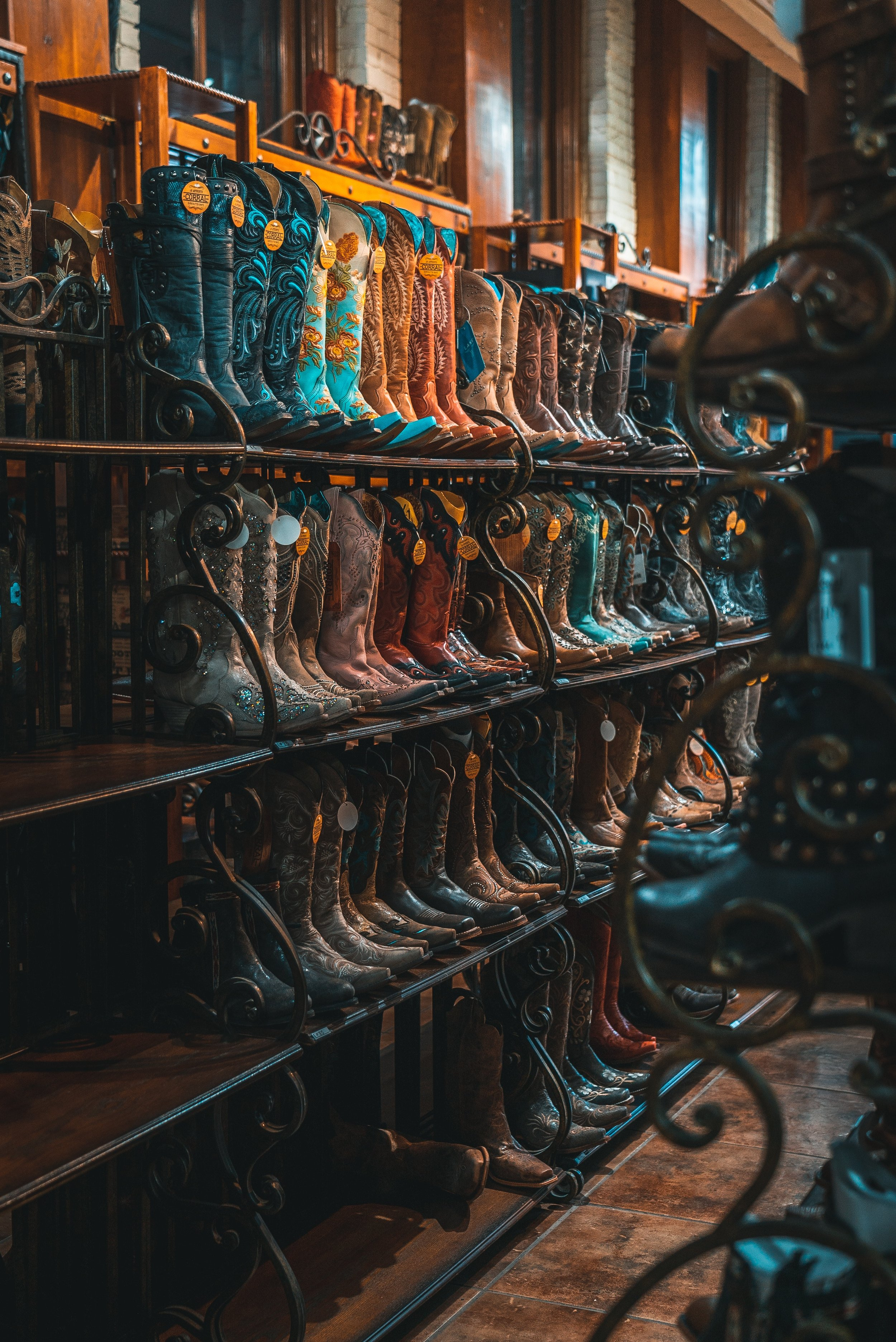 These boots were made for walkin'…