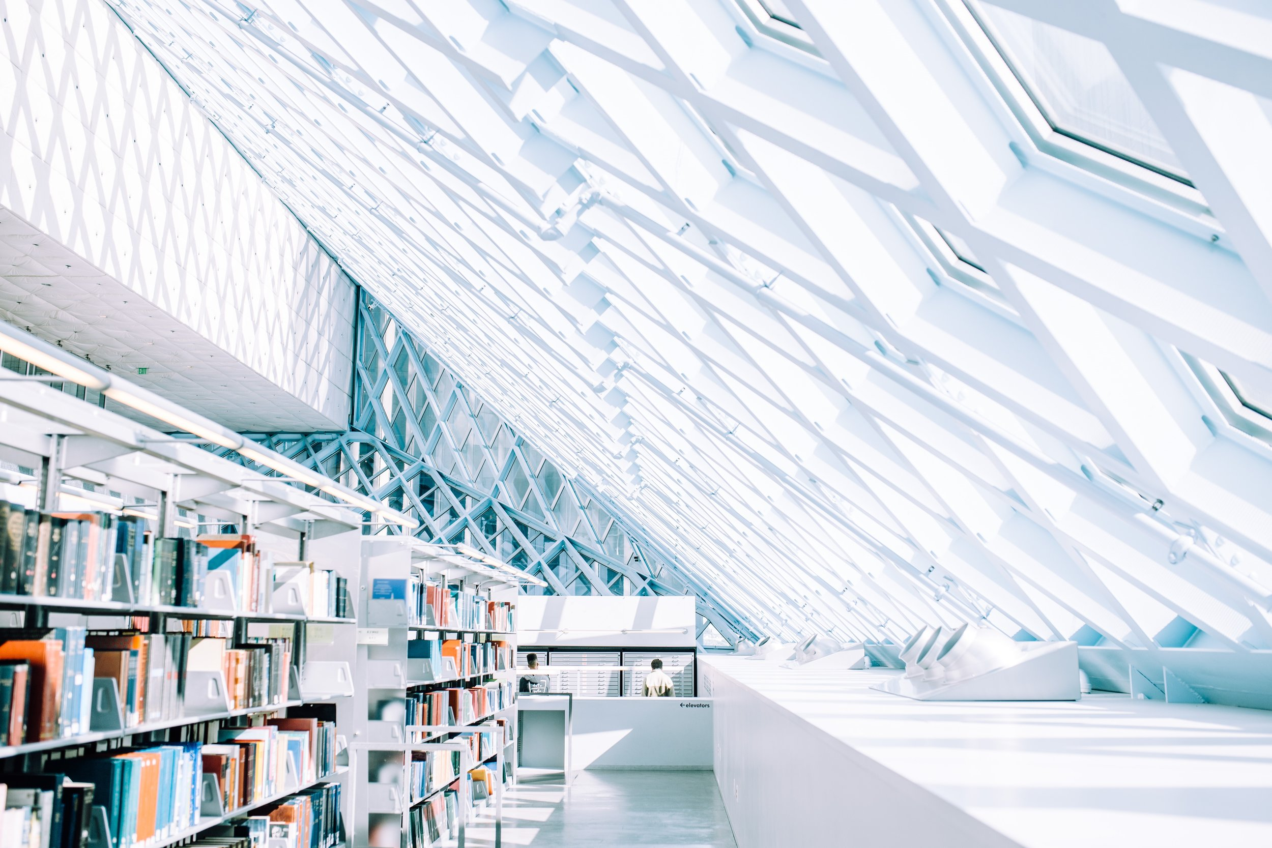 There are lots of great things about Seattle, but its library is certainly top of the list.