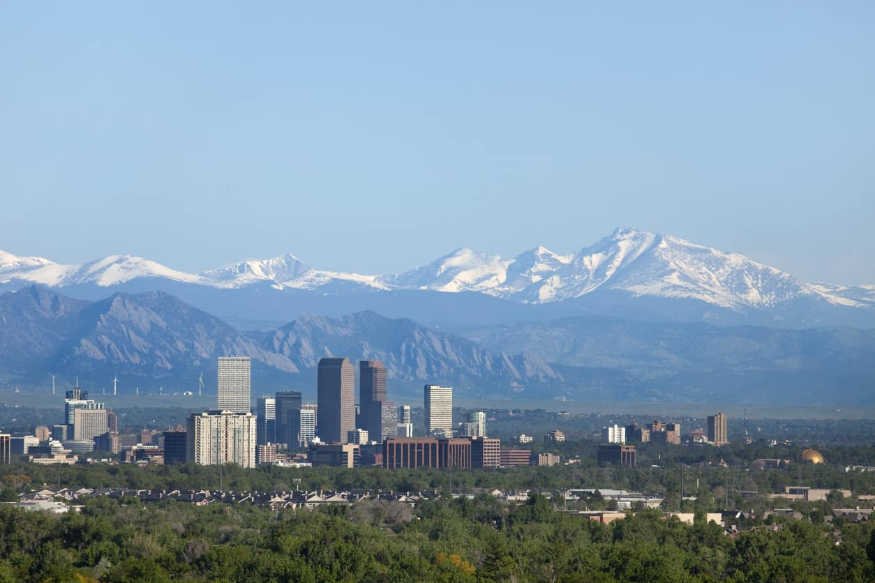 Nothing like the Mile High City!