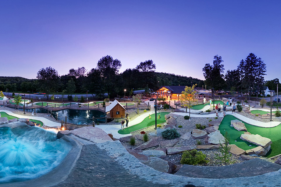 More than just mini golf, Dunn-Ds offers a gorgeous Caribbean experience.