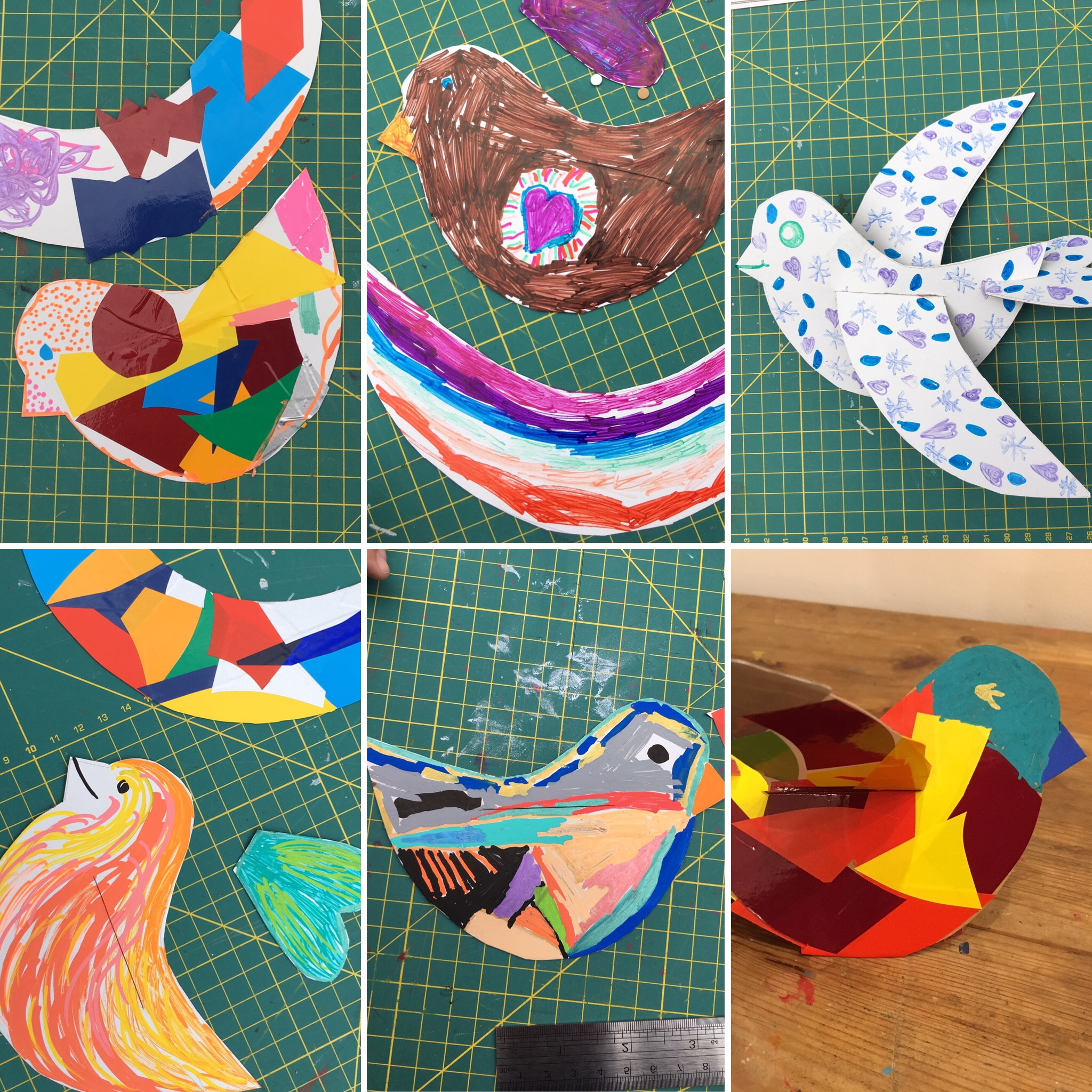 Chandos Rd Festival - We had a brilliant arty day making and flying birds - so many people stopped to create with us. We made lots of new friends, and not just the feathered kind...