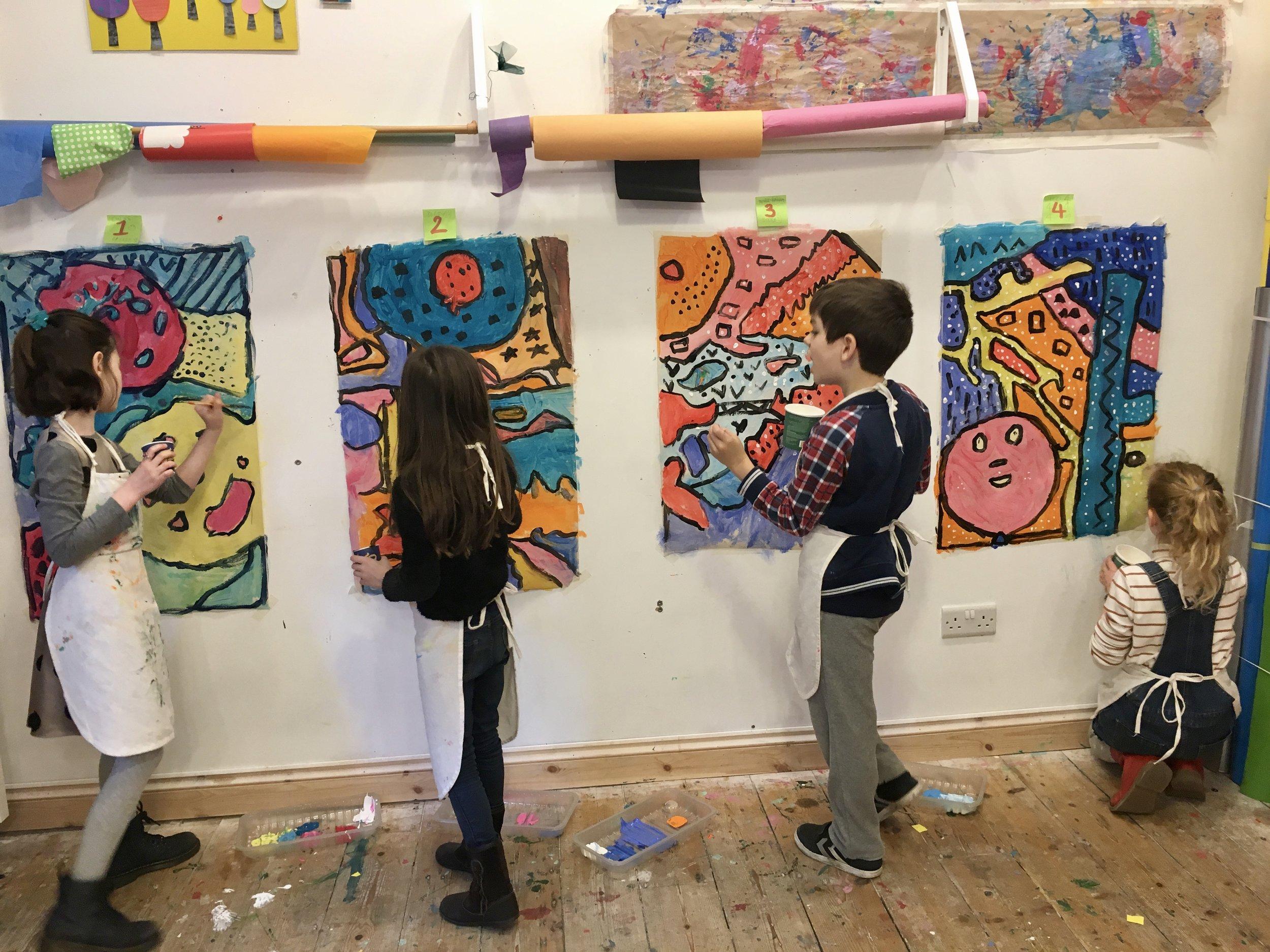 art for kids in bristol
