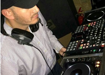 In action: Veglio's DJ sets have featured at a number of venues
