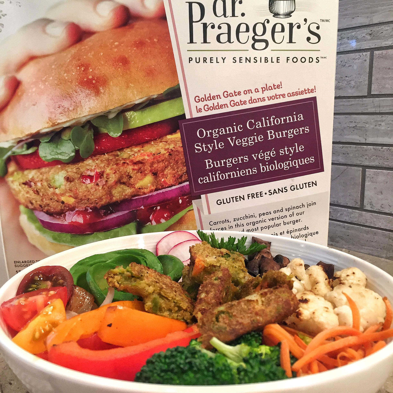 Dr Praegers Burger Bowl