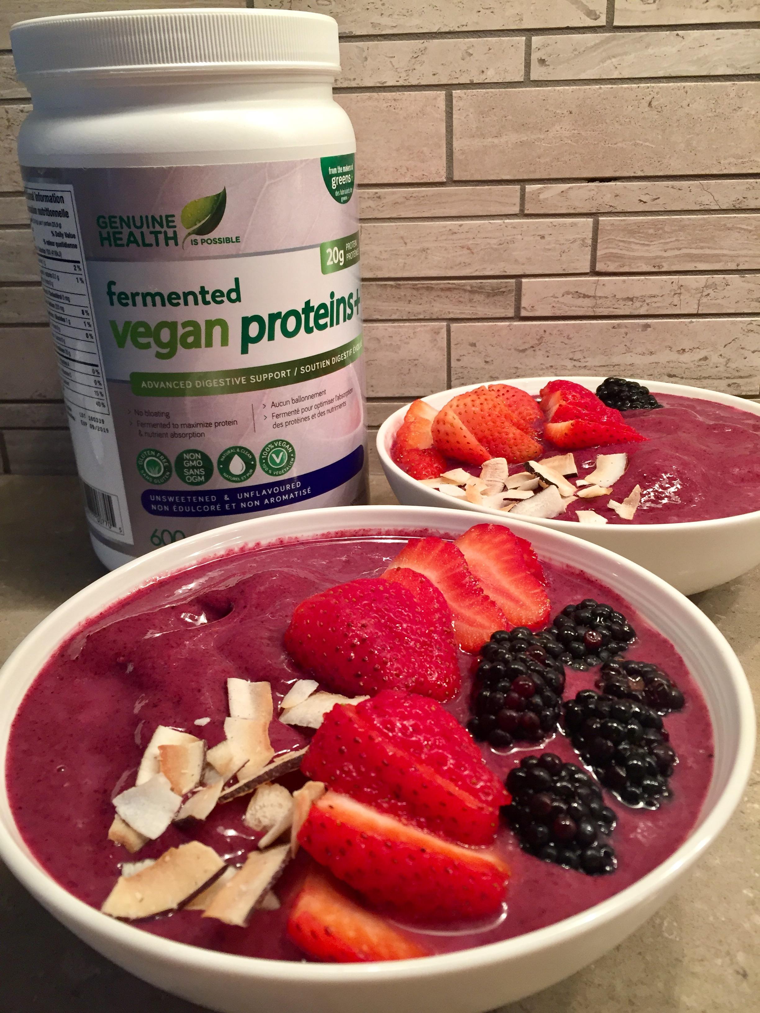 Genuine Health Berry Smoothie