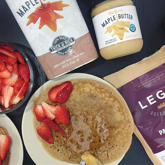 Gluten free crepes made from @legitbreadcompany pancake mix! Strawberries made them even more delicious and @parkersrealmaple maple butter and maple syrup takes everything over the top! Can never get enough maple!!! And @parkersrealmaple has honestly changed my life🍁 • • • • #foodmood#healthandwellness#healthfoodshare#noleftovers#plantstrong#paleofoodshare#plantbased#iamwellandgood#feedfeed#eatinghealthy#healthyrecipes#healthychoices#pancakeday#maplesyrup#glutenfreefoods#plantbasedfood#foodblogger#eatforabs#f52grams#feedfeed#goodmoodfood#feedyourbrain#strongnotskinny#foodforthought#wholefoods#maplebutter#eatclean#parkersmaplebarn