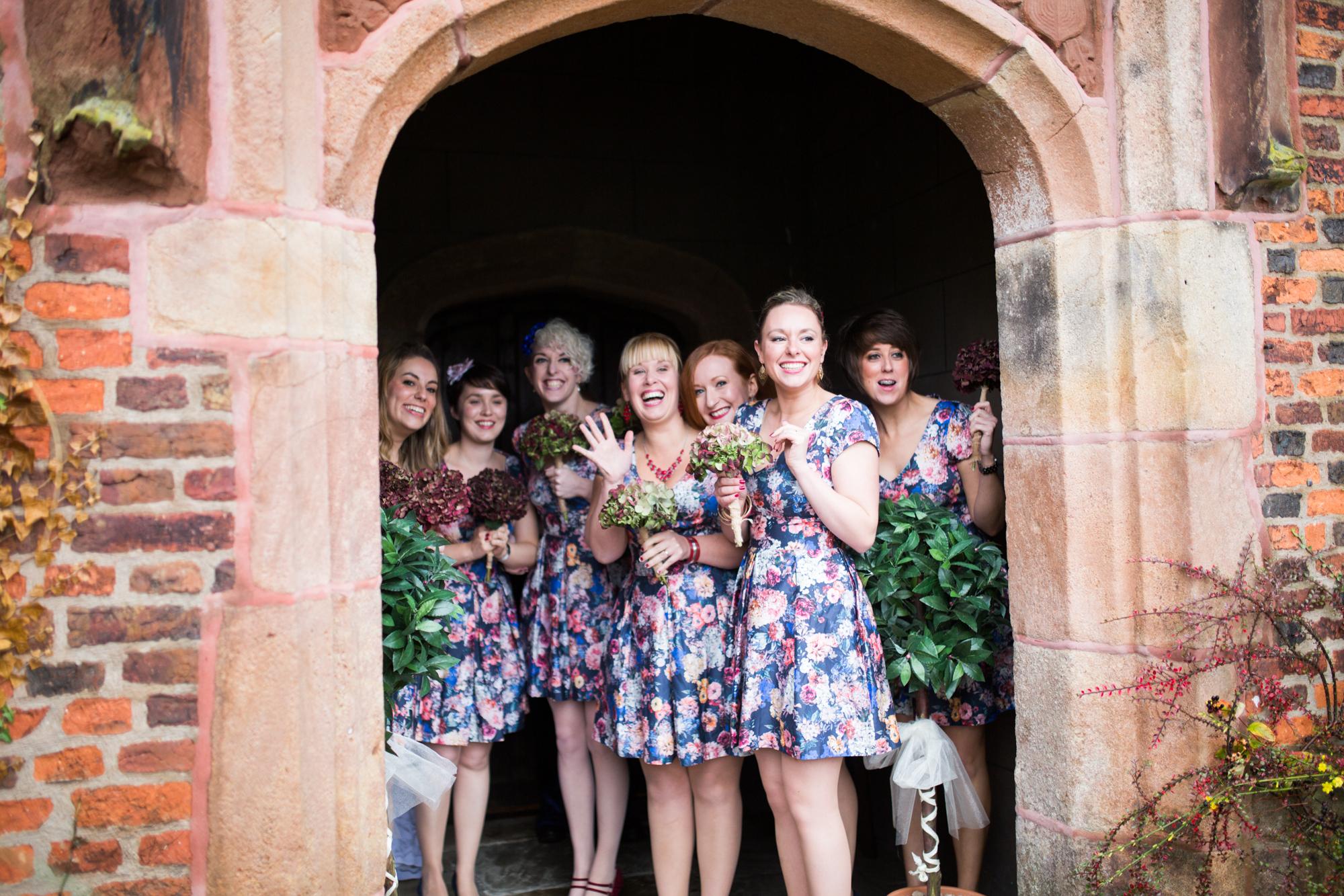 bridesmaids Heskin Hall