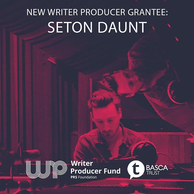 Fantastic news from @setond who has been selected for the @prsfoundation and @bascatrust writer/ producer fund!